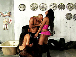 Wanessa amp emanuele  a guy seducing 2 hot shemales. A Guy Seducing 2 Hot Shemales
